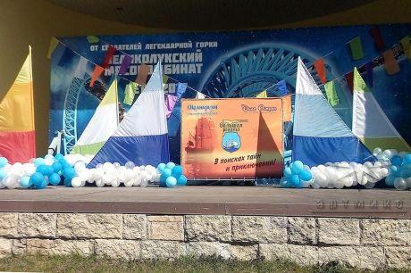Декоративное оформление сценической площадки на Диво Острове