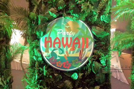 Надпись Гавайи Пати