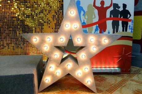 Объёмные, отдельно стоящие декорации Звезды