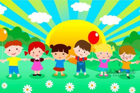 Баннер для украшения уличной сцены на праздник 1 июня — Международный День Защиты Детей_1