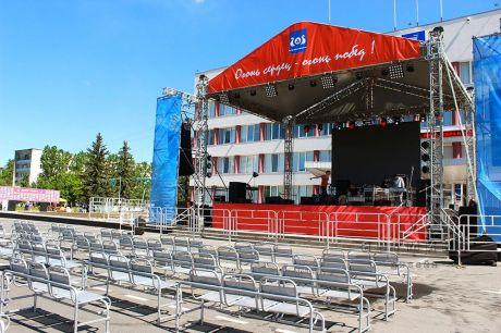 Оформление сцены в стиле СССР