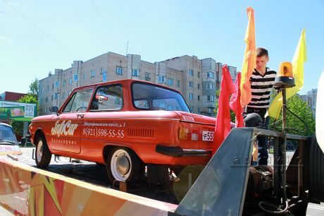 Декорирование автомобиля в стиле праздника