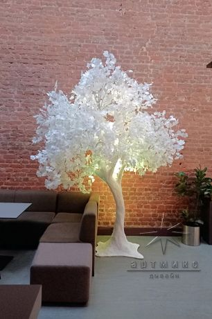 Сказочное белое дерево_2