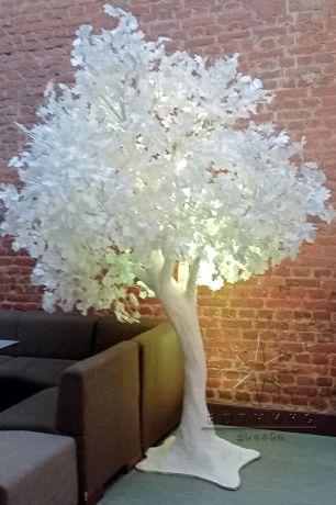 Сказочное белое дерево_3