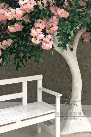 Фотозона Дерево со скамейкой_1