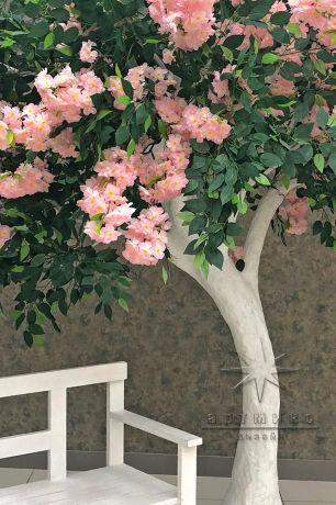 Фотозона Дерево со скамейкой_3
