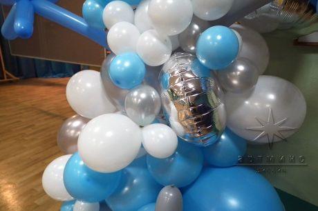Воздушные шары в оформлении