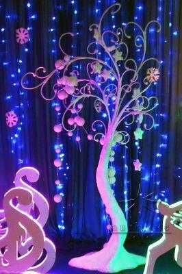 Новогоднее волшебное дерево
