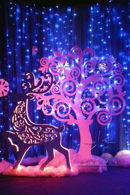 Декорация дерево из серии ажурные фигуры