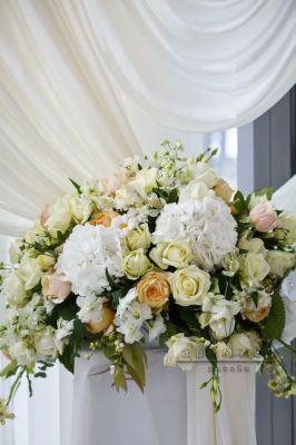 Оформление корпоративных мероприятий цветами и праздничной флористикой