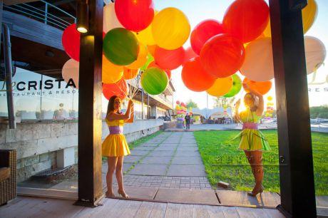 Яркие воздушные шары скоро взлетят в небо