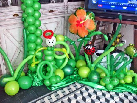Яркий и эффектный вариант на торжество и прекрасный элемент оформления любого помещения на праздник