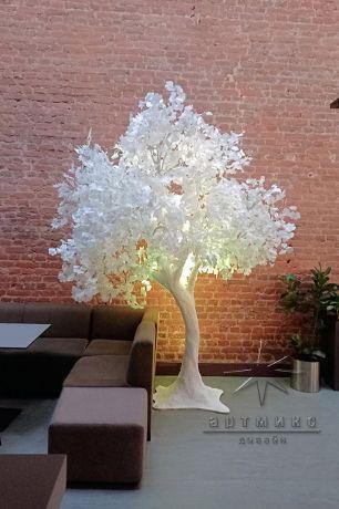 Сказочное белое дерево_1