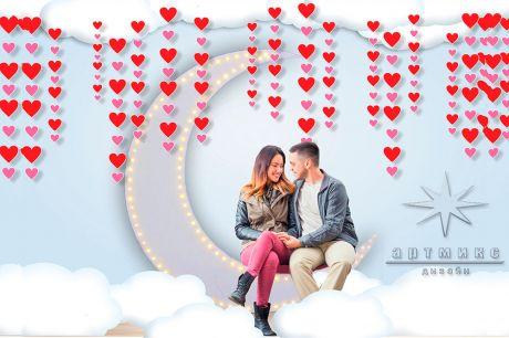 Фотозона День Влюблённых