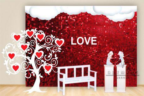 Романтические инсталляции ко дню Святого Валентина_2