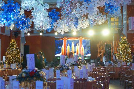 Корпоративная новогодняя вечеринка в Атриум Петропавловской крепости