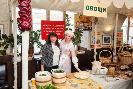 Оформление велком зоны при встречи гостей на корпоративном  празднике  - выездной рынок • Привоз на улицах Одессы