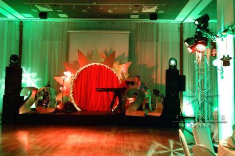 Оформление сцены в Sokos Hotel