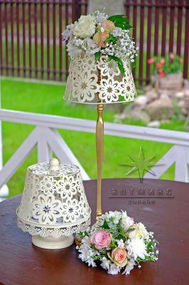 Декор и цветочные композиции в сервировки столов
