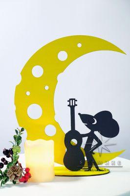 Настольная композиция Мышонок с гитарой