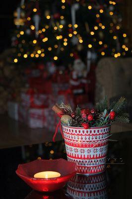 Новогоднее оформление столов