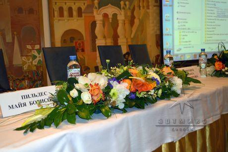 Оформление конференц-зала Кремлевский в отеле Москва, Санкт-Петербург