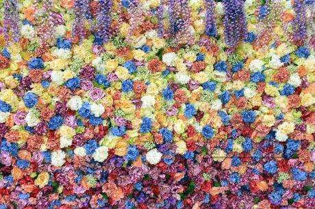 Цветочная декорация на корпоративном мероприятии