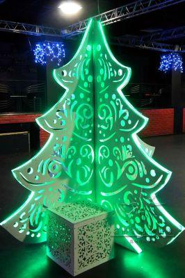Современная светодиодная елочка