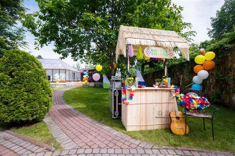 Гавайский бар для корпоративной вечеринки