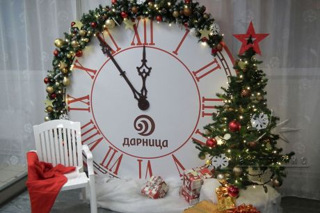 Новогоднее оформление для корпоративного праздника