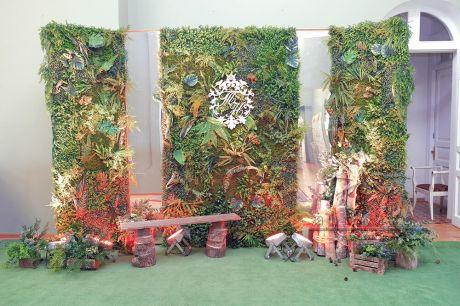 Фотозона с зеркалами Волшебный лес