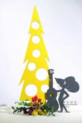 Настольная композиция  Сырная ёлочка и Мышонок с сыром