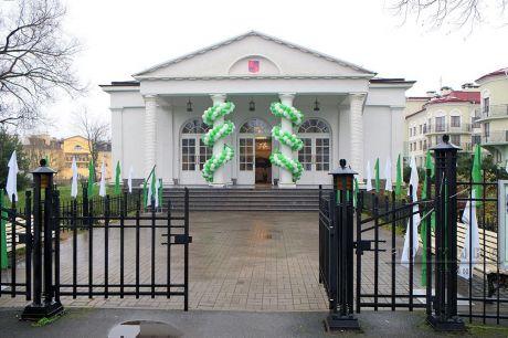 Украшение банкетного зала в Софийском павильоне