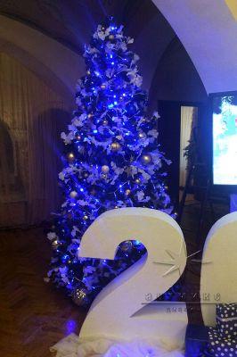 Оформление новогодней ёлки