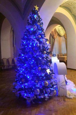Оформление банкетного зала на новогоднюю ночь
