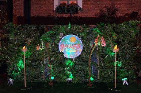 Новогодняя фотозона Тропики