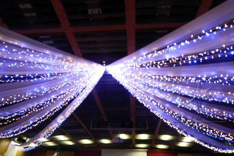Новогоднее оформление светом