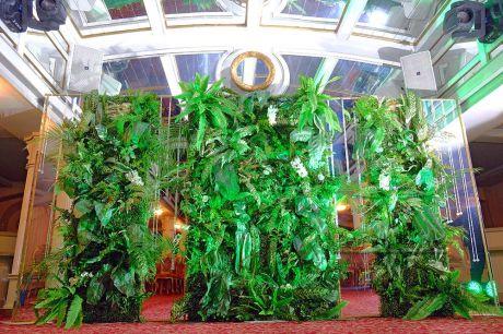 Эксклюзивное панно в экологическом стиле для праздничного декора
