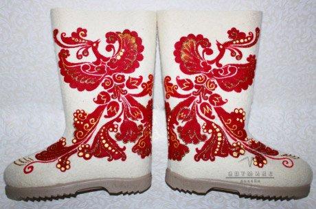 Уютная обувь для подарка № 10 Феникс. Стоимость такой модели 6.500 ₽