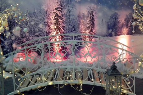Новогодняя фотозона - Ажурный Мостик