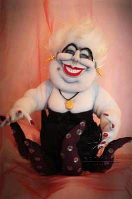 Авторская текстильная кукла *Урсула* 2