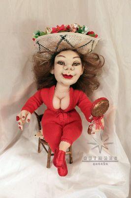 Авторская текстильная кукла *Верочка*