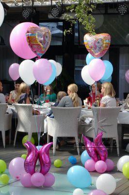 Детское день рождение в ресторане Le Cristal