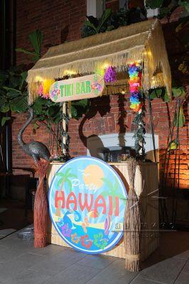 Тики-бар оформление зала в тропическом стиле