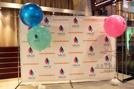 Воздушные шары с логотипом компании